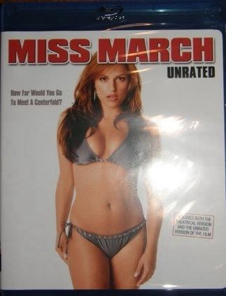 Miss March sans band