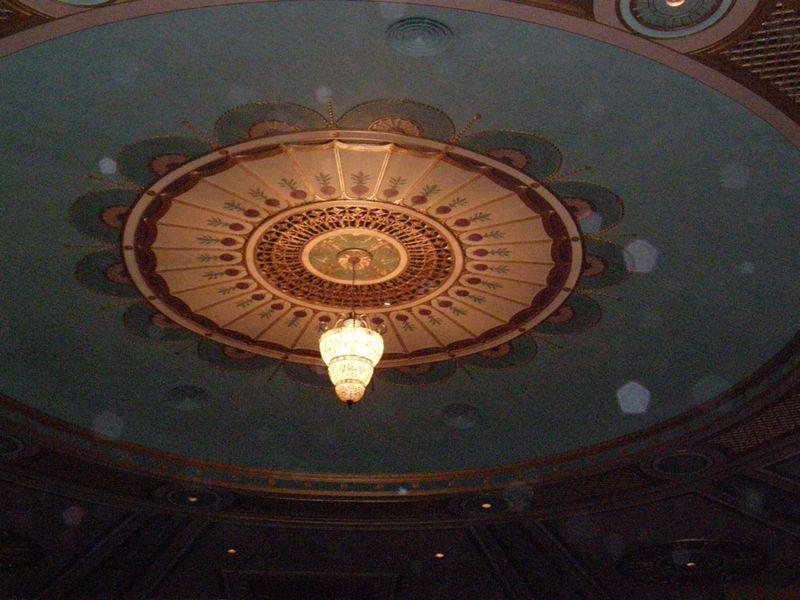 Ceiling restoration 2