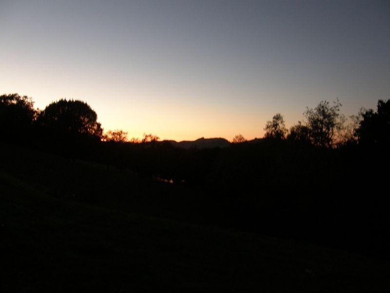 Petaluma sunset