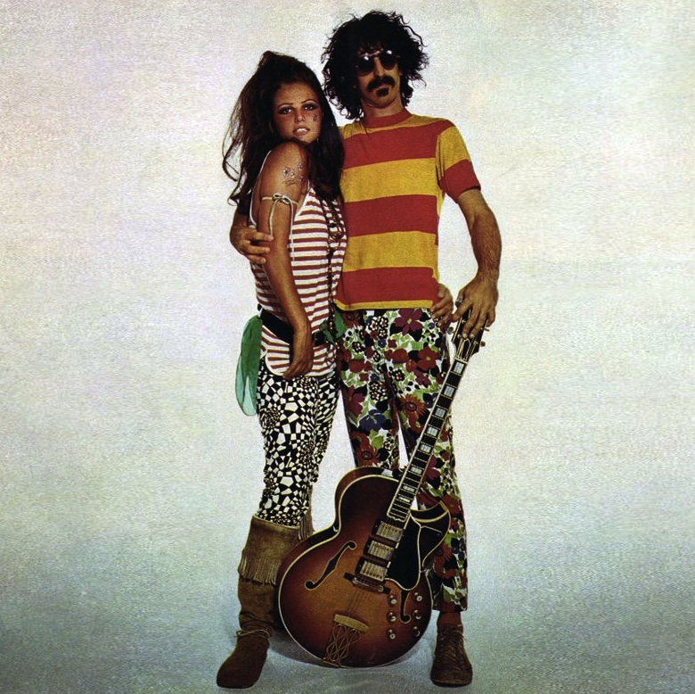 Claudia Cardinale and Frank Zappa