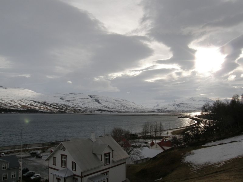 Morning, akureyri
