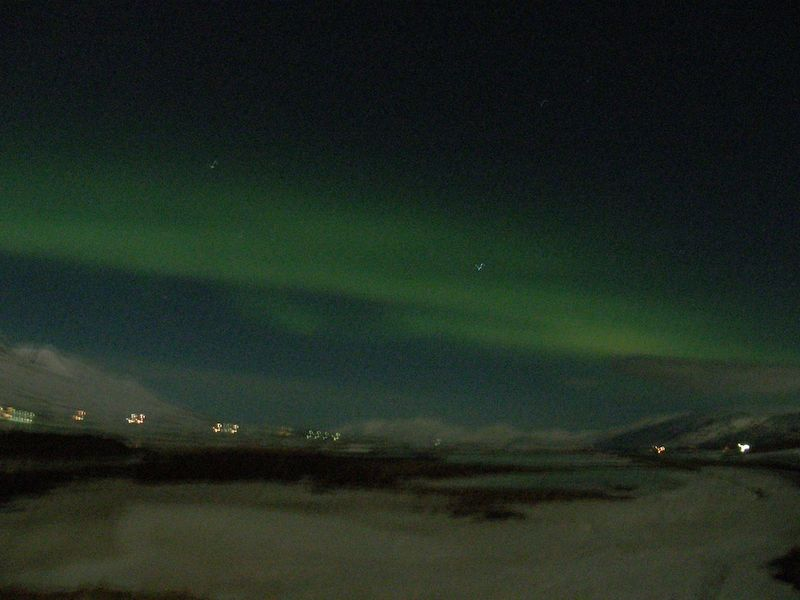 Northern lights without a tripod