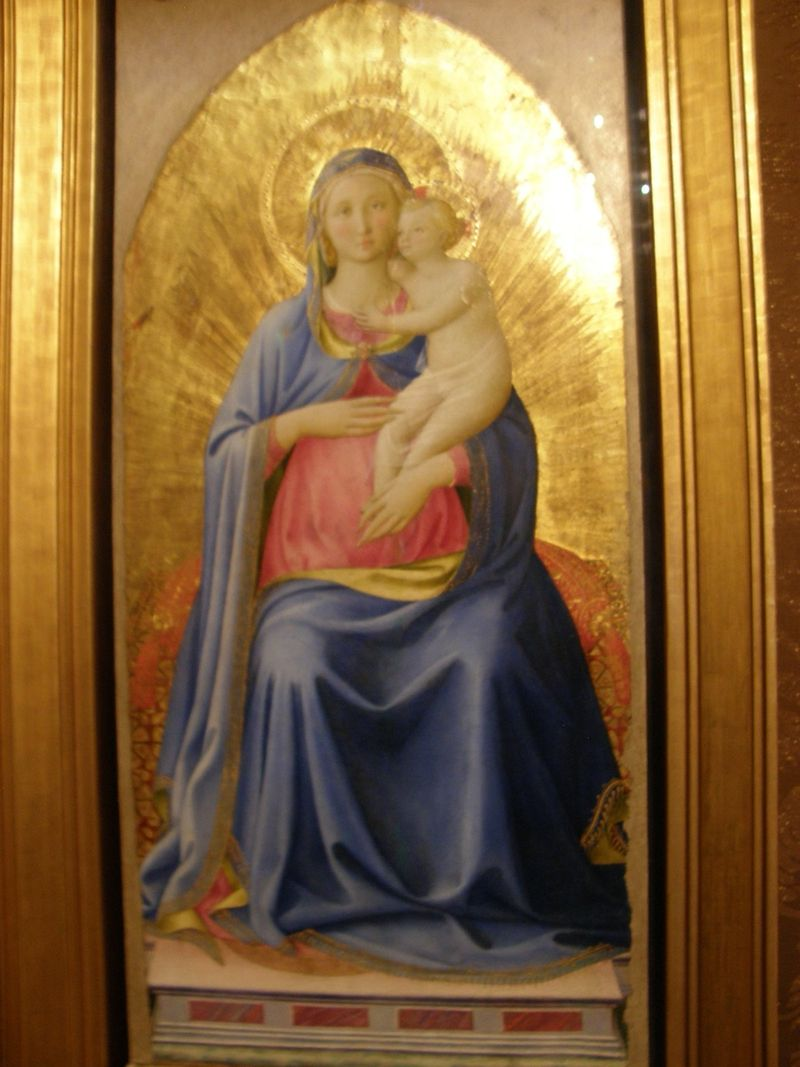 Madonna of Pontassiere by Fra Angelico